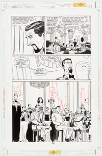 Dave Taylor and Robert Campanella Batman and Superman: World's Finest #1 Story Page 1 Original Art (DC Comics, 199