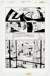 Dave Taylor and Robert Campanella Batman and Superman: World's Finest #4 Story Page 18 Original Art (DC Comics, 19
