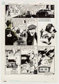 Bo Hampton The Batman Chronicles #23 Story Page 1 Original Art (DC Comics, 2001)