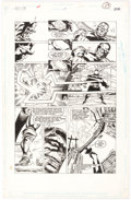 Original Comic Art:Panel Pages, Paris Cullins and Willie Blyberg New Gods #17 Story Page 23 Original Art (DC, 1990)....