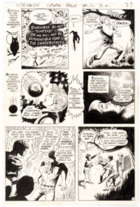Curt Swan and Bob Oksner Strange Sports Stories #1 Story Page 7 Original Art (DC, 1973)