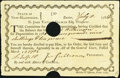 Colonial Notes:New Hampshire, Pay Order to Colonel Gillman New Hampshire State Treasurer.. ...