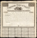 Ball 3 Cr. 6A Bond $100 1861 16 Examples Fine. ... (Total: 21 items)