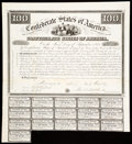 Confederate Notes:Group Lots, Ball 4 Cr. 6 $100 1861 Bond Sixteen Examples Fine or Better.. ... (Total: 16 items)