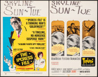 "The Ipcress File & Other Lot (Universal, 1965). Fine/Very Fine. Window Cards (4) (14"" X 22""). Thriller..."