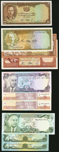 A Varied Selection from Afghanistan. Crisp Uncirculated. ... (Total: 28 notes)