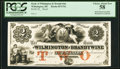 Obsoletes By State:Delaware, Wilmington, DE- Bank of Wilmington and Brandywine $2 18__ as G42 Proof PCGS Choice About New 58.. ...