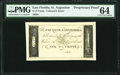 St. Augustine, (East) FL- Unknown Issuer 6-1/4¢ ND as Benice 10 Proprietary Proof PMG Choice Uncirculated 64