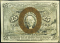 Fractional Currency:Second Issue, Fr. 1283 25¢ Second Issue Complete Treasury Rectangle Extremely Fine.. ...