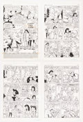 "Original Comic Art:Complete Story, Stan Goldberg and Mike Esposito Archie Giant Series Magazine #630 Complete 21-Page Christmas Story ""A Tree Grows I... (Total: 21 Original Art)"