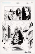 Original Comic Art:Panel Pages, Steve Epting and Rick Magyar Crux