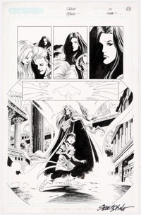 Steve Epting and Rick Magyar Crux #10 Story Page 22 Original Art (CrossGen, 2002)