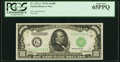 Fr. 2212-G $1,000 1934A Federal Reserve Note. PCGS Gem New 65PPQ