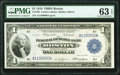 Fr. 708 $1 1918 Federal Reserve Bank Note PMG Choice Uncirculated 63 EPQ