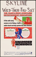 Movie Posters:Horror, Chamber of Horrors & Other Lot (Warner Bros., 1966). Folde...