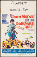 Movie Posters:Comedy, Donovan's Reef & Other Lot (Paramount, 1963). Fine/Very Fi...
