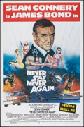 "Movie Posters:James Bond, Never Say Never Again (Warner Bros., 1983). Rolled, Very Fine+. Poster (40"" X 60""). Rudy Obrero Artwork. James Bond.. ..."