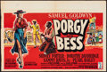 Movie Posters:Musical, Porgy and Bess (Columbia, 1959). Folded, Fine/Very Fine.