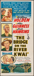 Movie Posters:War, The Bridge on the River Kwai (Columbia, 1958/R-1970s). Fol...