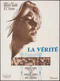 """Movie Posters:Foreign, The Truth (Columbia, 1960). Folded, Fine+ French Moyenne (22.75"""" X 30.5""""). Foreign.. ..."""