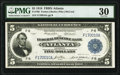 Large Size:Federal Reserve Bank Notes, Fr. 790 $5 1918 Federal Reserve Bank Note PMG Very Fine 30.. ...