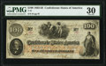 Confederate Notes:1862 Issues, T41 $100 1862 PF-1 Cr. 310 PMG Very Fine 30.. ...