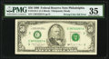 Error Notes:Inking Errors, Fr. 2124-C $50 1990 Federal Reserve Note. PMG Choice Very Fine 35.. ...