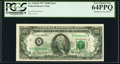 Error Notes:Offsets, Fr. 2168-B $100 1977 Federal Reserve Note. PCGS Very Choice New 64PPQ.. ...