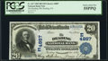 National Bank Notes:Pennsylvania, Reading, PA - $20 1902 Date Back Fr. 647 The Reading National Bank Ch. # (E)4887 PCGS Choice About New 55PPQ.. ...