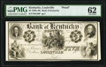 Obsoletes By State:Kentucky, Louisville, KY- Bank of Kentucky $5 18__ G20 Hughes 493 Proof PMG Uncirculated 62.. ...