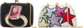 Luxury Accessories:Bags, Judith Leiber Set of Two: Full Bead Minaudière Evening Bags. Condition: 3. See Extended Condition Report for Sizes...... (Total: 2 Items)