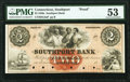 Southport, CT- Southport Bank $2 18__ as G4a Proof PMG About Uncirculated 53