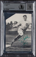 Autographs:Photos, Ty Cobb Signed Photograph, BAS Gem Mint 10....