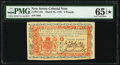 New Jersey March 25, 1776 £3 PMG Gem Uncirculated 65 EPQ★