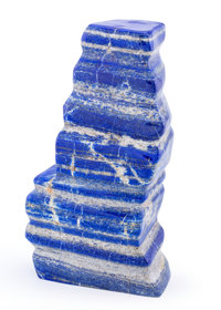 Lapis Free-Form Afghanistan 8.86 x 4.72 x 2.44 inches (22.50 x 12.00 x 6.20 cm)