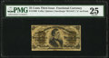 Fractional Currency:Third Issue, Fr. 1300 25¢ Third Issue PMG Very Fine 25.. ...
