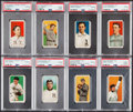 Baseball Cards:Lots, 1909-11 T206 Old Mill, Piedmont, Sovereign & Sweet Caporal PSA Good 2 Graded Collection (8)....