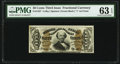 Fractional Currency:Third Issue, Fr. 1337 50¢ Third Issue Spinner PMG Choice Uncirculated 63 EPQ.. ...