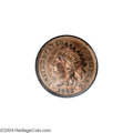 Patterns: , 1863 1C One Cent, Judd-299, Pollock-359, R.3, PR65 Red and Brown PCGS....
