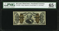 Fractional Currency:Third Issue, Fr. 1342 50¢ Third Issue Spinner Type II PMG Gem Uncirculated 65 EPQ.. ...
