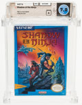 Video Games:Nintendo, Shadow of the Ninja Wata 7.0 A Sealed NES Natsume 1990 USA....