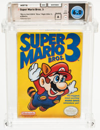 Super Mario Bros. 3 [Right Bros.] Wata 6.0 A Sealed NES Nintendo 1990 USA