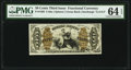 Fractional Currency:Third Issue, Fr. 1366 50¢ Third Issue Justice PMG Choice Uncirculated 64 EPQ.. ...