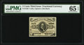 Fractional Currency:Third Issue, Fr. 1236 5¢ Third Issue PMG Gem Uncirculated 65 EPQ.. ...