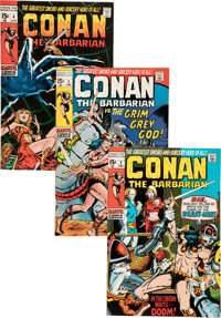 Conan the Barbarian #2-23 Group (Marvel, 1970-73) Condition: Average FN/VF.... (Total: 22 Comic Books)