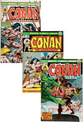 Bronze Age (1970-1979):Adventure, Conan the Barbarian #25-107 Complete Range Group (Marvel, 1973-80) Condition: FN/VF.... (Total: 86 Comic Books)