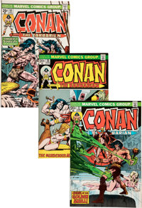 Conan the Barbarian #25-107 Complete Range Group (Marvel, 1973-80) Condition: FN/VF.... (Total: 86 Comic Books)