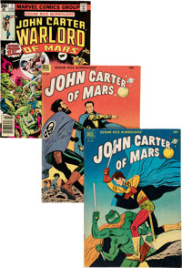 John Carter of Mars Group of 37 (Various Publishers, 1950-79).... (Total: 37 Comic Books)