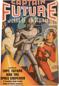Captain Future Complete Series Bound Volumes Group of 4 (Better Publications, 1940-44).... (Total: 4 Items)