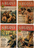 "Pulps:Adventure, Argosy ""Tarzan and the City of Gold"" Group of 6 (Munsey, 1932) Condition: GD/VG.... (Total: 6 Items)"